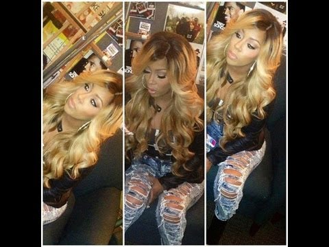 K Michelle Blonde Hair HOW I GOT MY BLONDE KMICHELLE