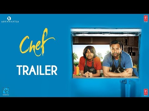 Chef Official Trailer |  Saif Ali Khan | Raja Krishna Menon