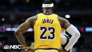 LeBron James, 76ers size highlight 2019-20 NBA season | NBC Sports