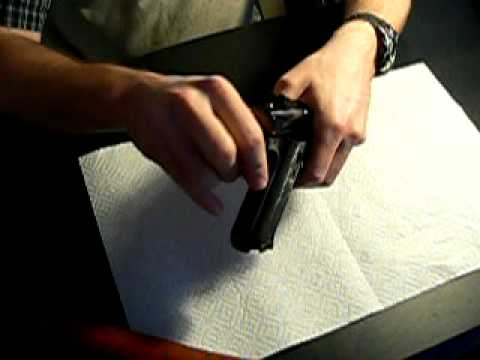 Ruger MK III .22 LR target pistol disassembly / field strip