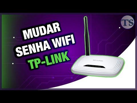 Como mudar senha wireless Tp-link