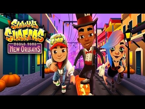Subway Surfers: New Orleans - Sony Xperia Z2 Gameplay