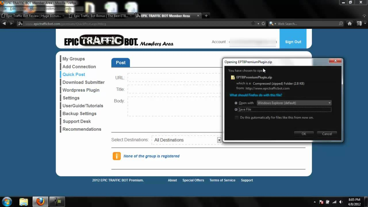 Epic Traffic Epic Traffic Bot Review How