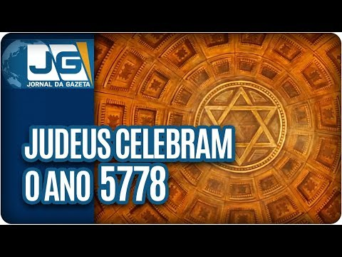 Judeus celebram o ano 5778