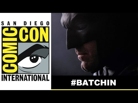 Comic Con 2014 - Ben Affleck Batman close-up in suit reveals Batchin! : Beyond The Trailer