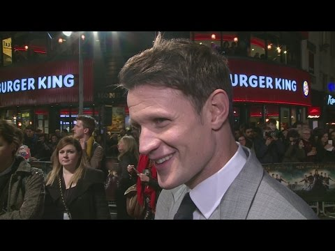Matt Smith on working with girlfriend Lily James in Pride and Prejudice and Zombies