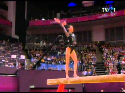 Catalina Ponor  Balance Beam Final London 2012 By Tvr.ro video