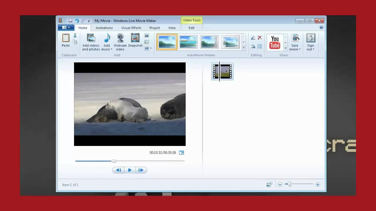 How to make movie maker full screen on youtube
