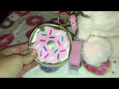 What's in my pink furry backpack purse