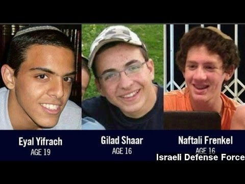 Israel Blames Hamas After Kidnapped Teens Found Dead