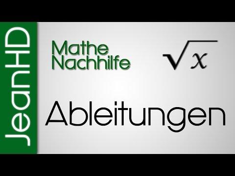 Mathe Nachhilfe - Ableitungen - Ableitungsregeln - Analysis
