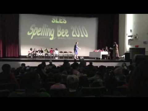 spelling bee! part 1