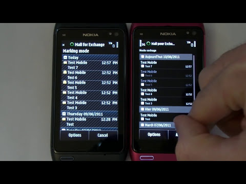 Comparaison : Symbian^3 PR 1.2 vs Symbian Anna PR 2.0 sur Nokia N8