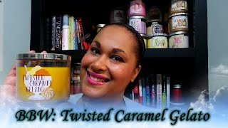 Beyond Books: Bath & Bodyworks Twisted Caramel Gelato 1st Impression