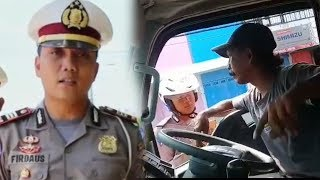 Video Sopir Truk Marahi Polisi yang Menghentikannya Viral, Polres Pekalongan Beri Klarifikasi