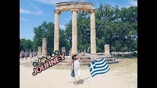 ANCIENT & ARCHAEOLOGICAL MUSEUM OLYMPIA,GREECE || VLOG 34 || IRNAVR ♥︎
