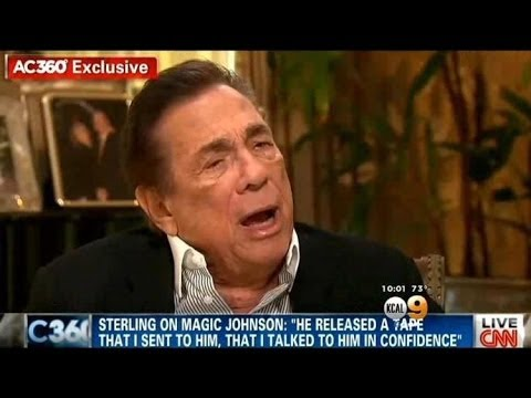 Donald Sterling Puts His Foot In His Mouth AGAIN, Attacks Magic Johnson