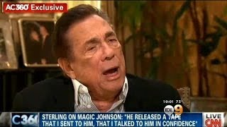 (Donald Sterling) Puts His Foot In His Mouth AGAIN, Attacks Magic Johnson  5/14/14