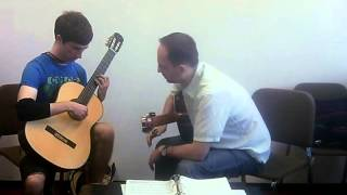 Denis Azabagic teaches Un sueno en la floresta by Agustin Barrios Mangore