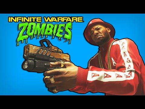 Infinite Warfare Zombies Funny Moments - Zombie Gun Game Challenge Fail! (IW Zombies Funny Moments)