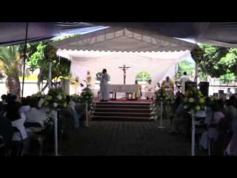 PRIMERA CELEBRECION EUCARISTICA DEL PARROCO GERARDO JONAS CRUZ HERNANDEZ EN AYOQUEZCO