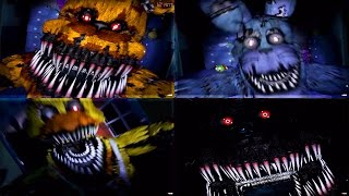 COLETÂNEA DE TODOS OS JUMPSCARES! - Five Nights at Freddy