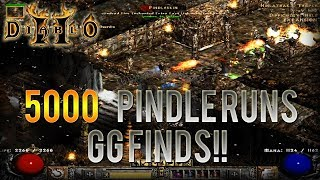Diablo 2 - 5000 Pindle Runs!!! - Human Bot Project Ep.3