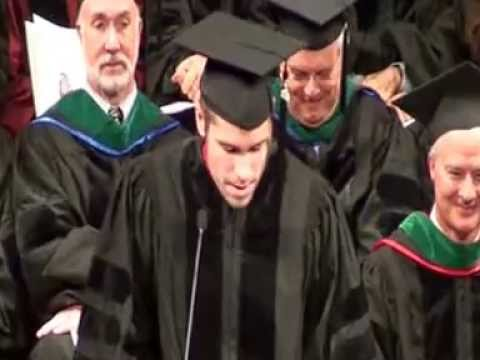 Best Medical School Graduation Speech -- Bob Zemple, 2012, University of Wisconsin