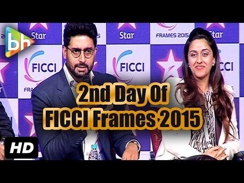 Abhishek Bachchan | Rajkumar Hirani At Day 2 Of 'FICCI Frames 2015'