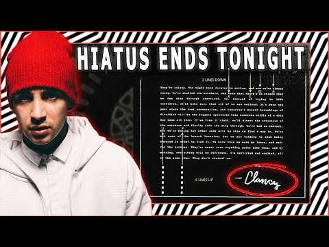 "*DEMA UPDATE* - ""Hiatus Ends at MIDNIGHT?"" |  2018 TWENTY ØNE PILØTS Album"