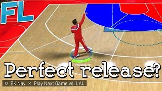 NBA 2K15: Perfect Shot Release?