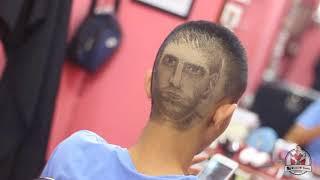 Messi vua phá lưới Tattoo hair in Tường barber