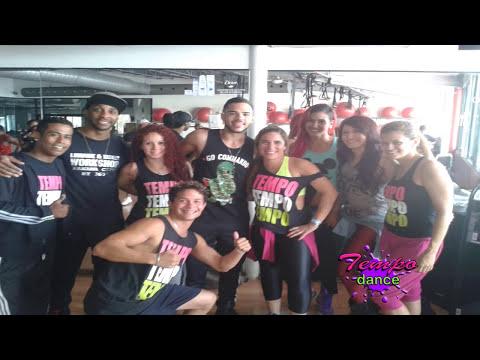 GRAN TALLER DE LOS BAILARINES DE WISIN Y YANDEL KICKER & LUMARIE BY TEMPO DANCE