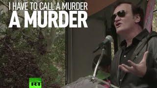 Target Tarantino: Director under fire for police brutality speech