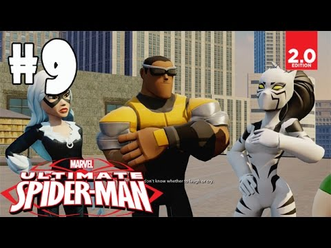 Ultimate Spider-Man - Part 9 (Oscorp Escort, Mission Invitation) Disney Infinity 2.0