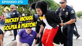 Mickey Mouse ataca a Peaton! #whatdafaqshow