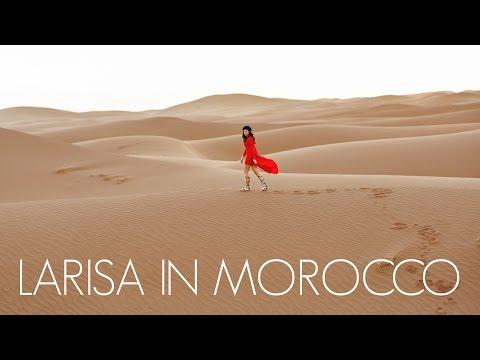 Larisa in Morocco