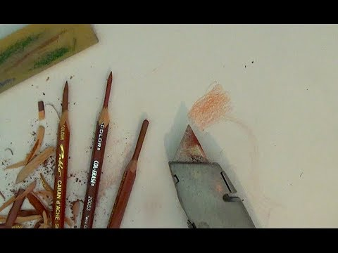 How to sharpen a pencil