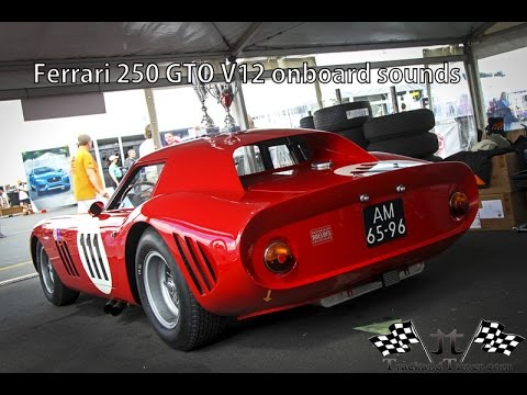 Ferrari 250 GTO V12 racing Onboard at the Nurburgring. Lovely sounds