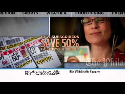 The Philadelphia Inquirer TV Commercial - Coupon Savings