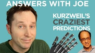 Ray Kurzweil's Craziest Predictions About The Future | Answers With Joe