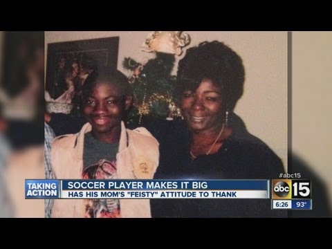Phoenix soccer player makes it big