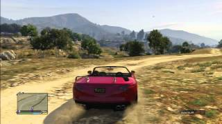 Grand Theft Auto 5 The Big Ballad Forest Desert City All Roads