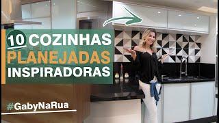10 Cozinhas planejadas inspiradoras - #GabyNaRua #1