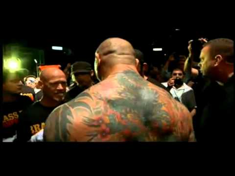 NERVOUS DAVE BATISTA MMA DAY VIEW ENTRANCE