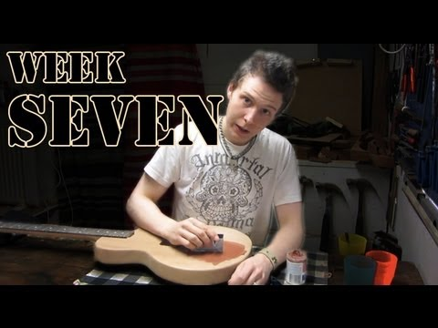 Les Paul Junior Guitar Project: Week Seven