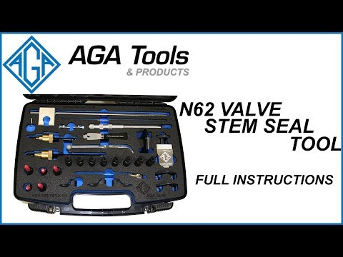 BMW N62 Valve Stem Seal AGA Tool - Instructions