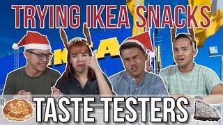 TRYING IKEA SNACKS! | Taste Testers | EP 85