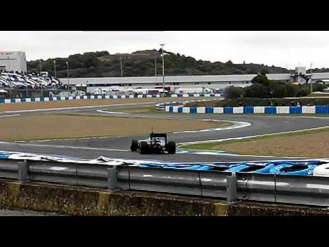 F1 2014 TESTING JEREZ FRIDAY V6 TURBO SOUND | Entrenamientos Jerez Viernes Test