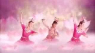 tiên nữ múa hoa sen dưới nhạc nền cực hay. chuyên nghiệp
